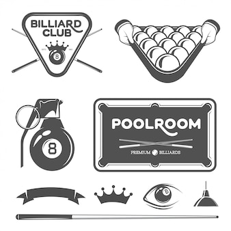 Zestaw poolroom