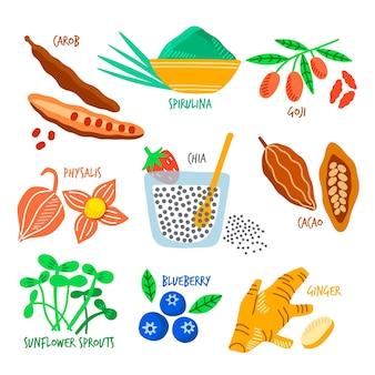 Zestaw pożywienia
