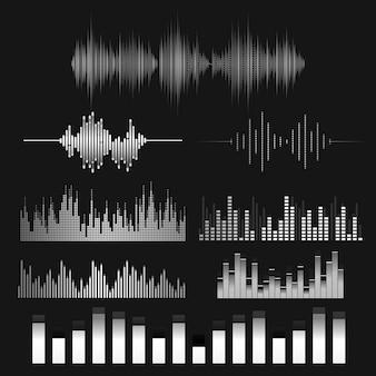 Zestaw projektu korektora dźwięku fali