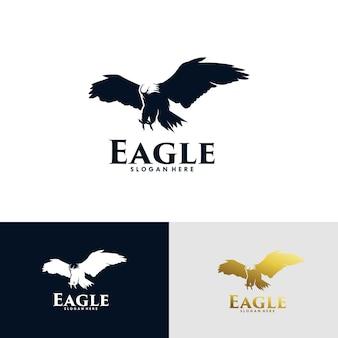 Zestaw projektu logo orła