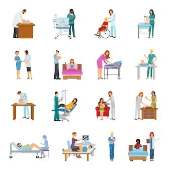 Zestaw przedszkolny szpitala macierzyńskiego