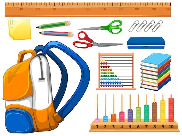 Zestaw przyborów szkolnych