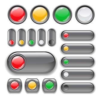 Zestaw przycisków