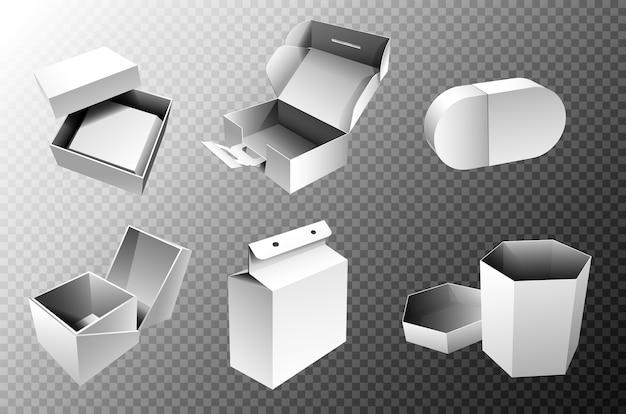 Zestaw pudełek