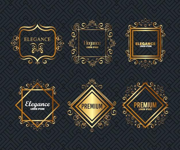 Zestaw ramek premium i elegancji