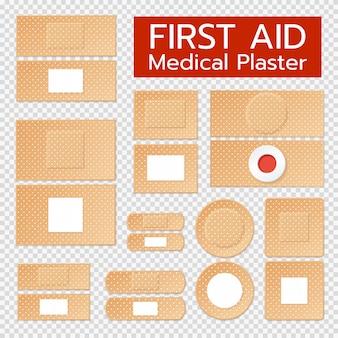 Zestaw realistyczne plastry medyczne
