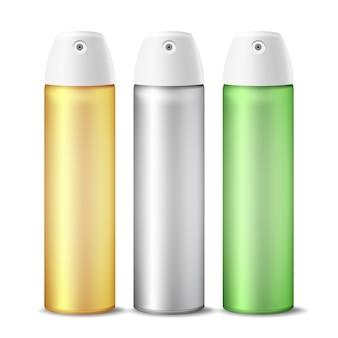 Zestaw realistycznych odświeżaczy powietrza w sprayu
