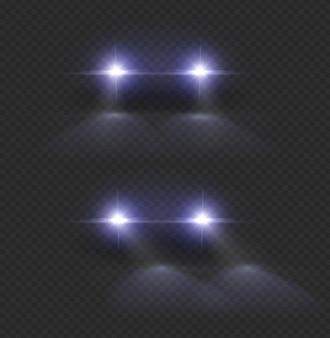 Zestaw reflektorów samochodowych