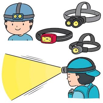 Zestaw reflektorów