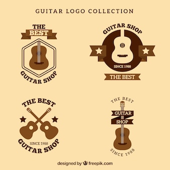 Zestaw rocznika gitara logo