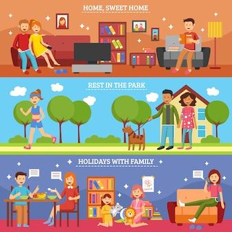 Zestaw rodzinny transparent