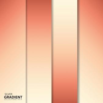 Zestaw rose gradient collections