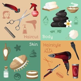 Zestaw salon kosmetyczny