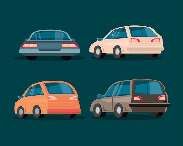 Zestaw samochodów turystycznych