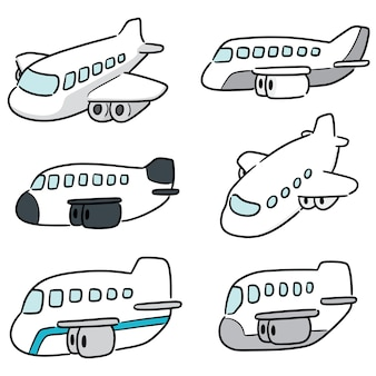 Zestaw samolotu