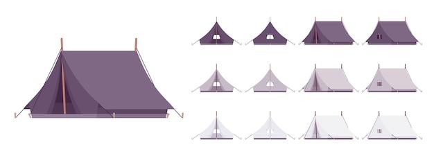Zestaw schronienia namiotowego