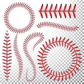 Zestaw ściegów baseballowych