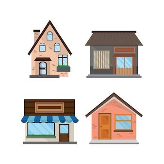 Zestaw sklepów house