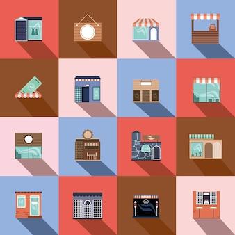 Zestaw sklepu dla małych firm