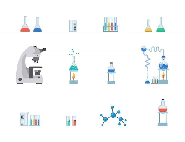 Zestaw sprzętu laboratoryjnego
