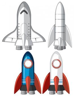 Zestaw statków rakietowych