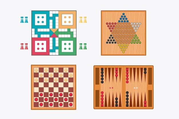 Zestaw strategicznych gier planszowych