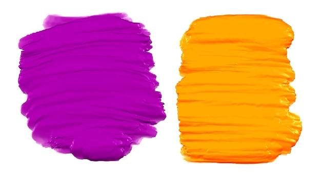Zestaw streszczenie farby akwarelowej