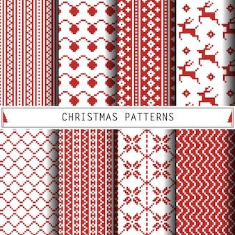 Zestaw świąteczny wzór