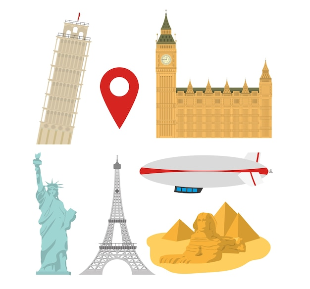 Zestaw światowych zabytków