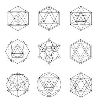 Zestaw świętej geometrii