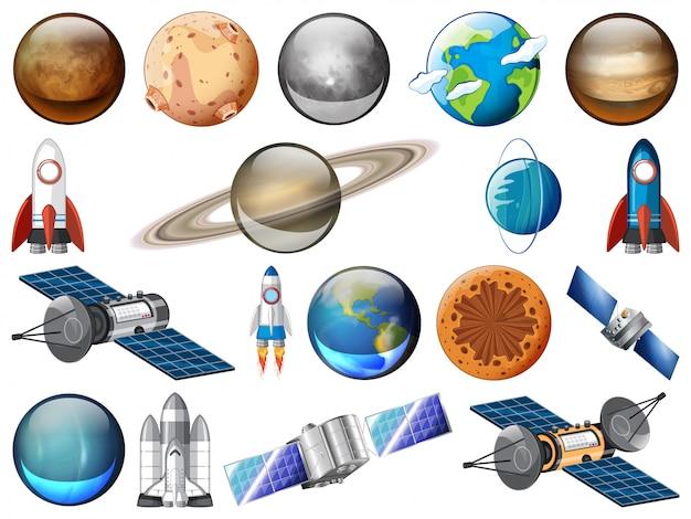 Zestaw systemów słonecznych