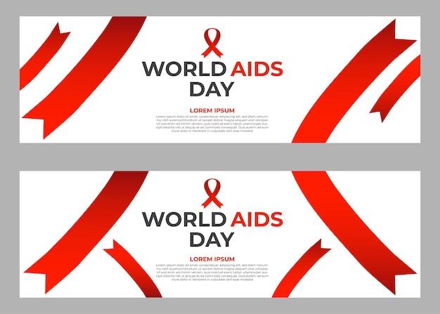 Zestaw szablonów transparentu światowego dnia pomocy