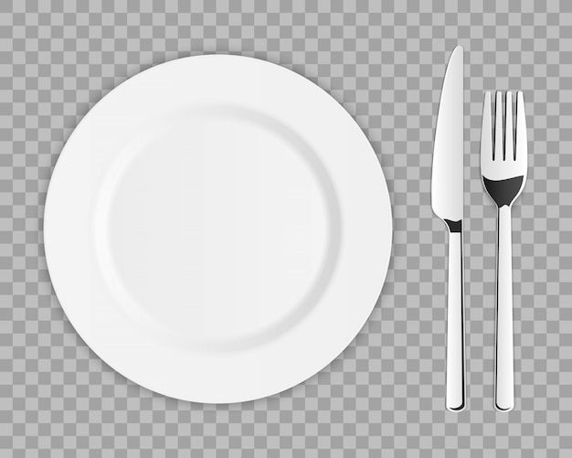 Zestaw sztućców ze srebrnym widelcem kuchennym, łyżką, nożem.