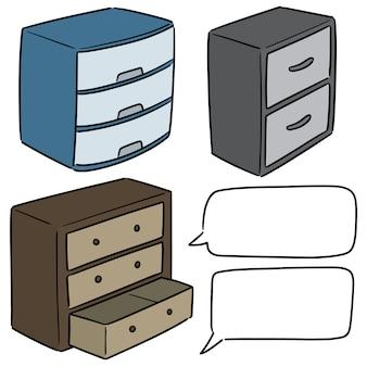 Zestaw szuflady
