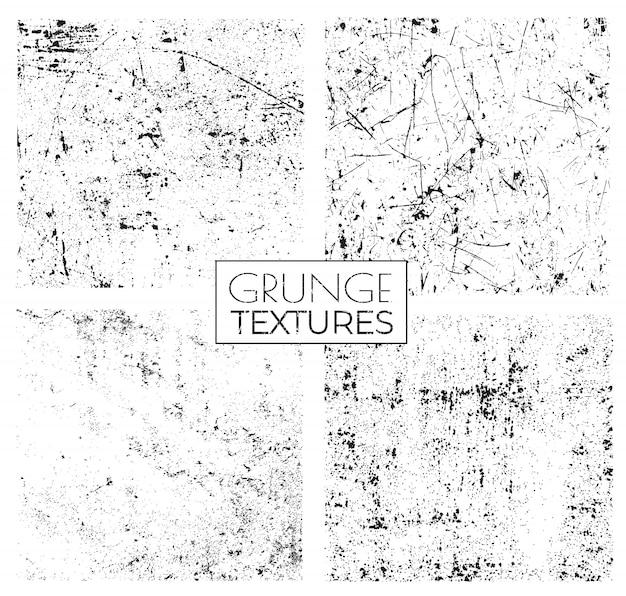 Zestaw tekstur grunge