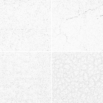 Zestaw tekstur szarej ściany