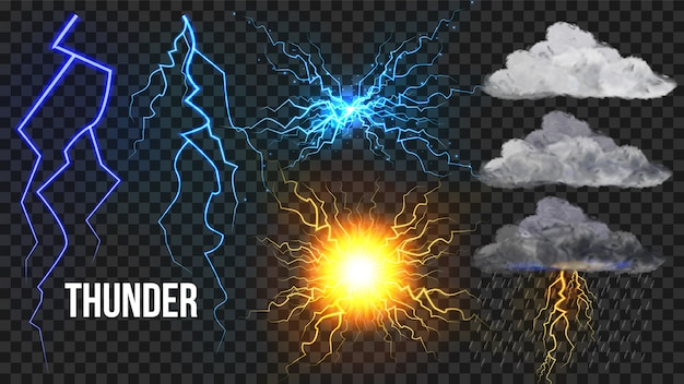 Zestaw thunder, lightnigs