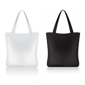 Zestaw toreb na zakupy dla twojej marki. szablon pakietu