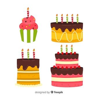 Zestaw tort urodzinowy