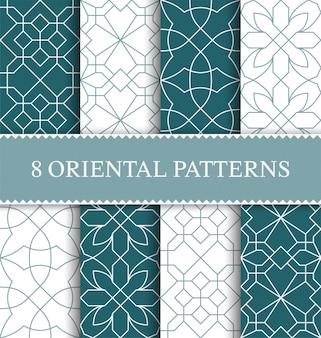 Zestaw tradycyjny arabski wzór