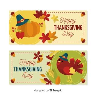 Zestaw transparent dzień turcji dziękczynienia