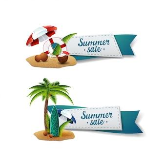 Zestaw transparent sprzedaż lato