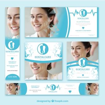 Zestaw transparentów dentystycznych