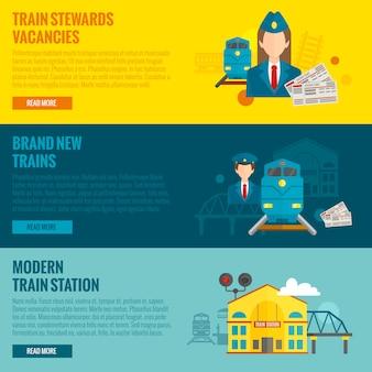 Zestaw transparentu kolejowego