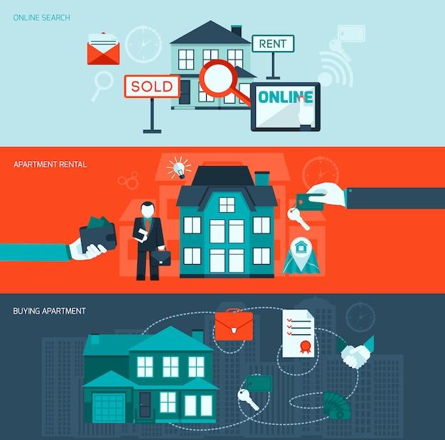 Zestaw transparentu nieruchomości