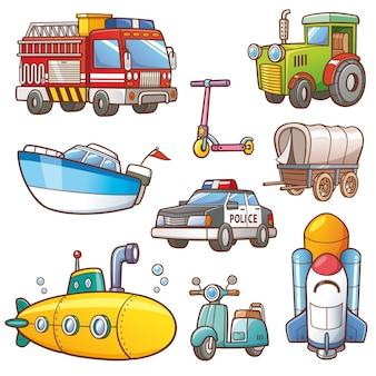 Zestaw transportowy
