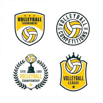 Zestaw turniejowy ligi siatkówki