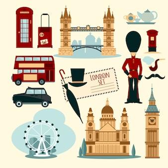 Zestaw turystyczny w londynie