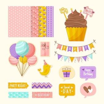 Zestaw urodzinowy notatnik