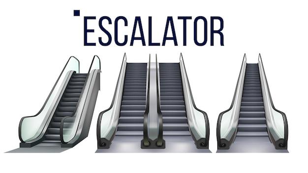 Zestaw urządzeń elektronicznych do schodów ruchomych